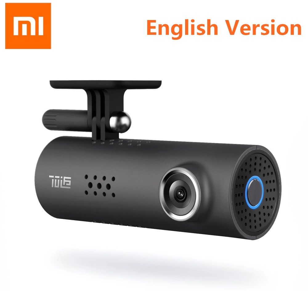 Original Xiaomi 70 Minutes English Version Smart WiFi Car DVR Wrieless 130 Degree Mstar 8328P Sony IMX323 1080P 30fps Dash Cam