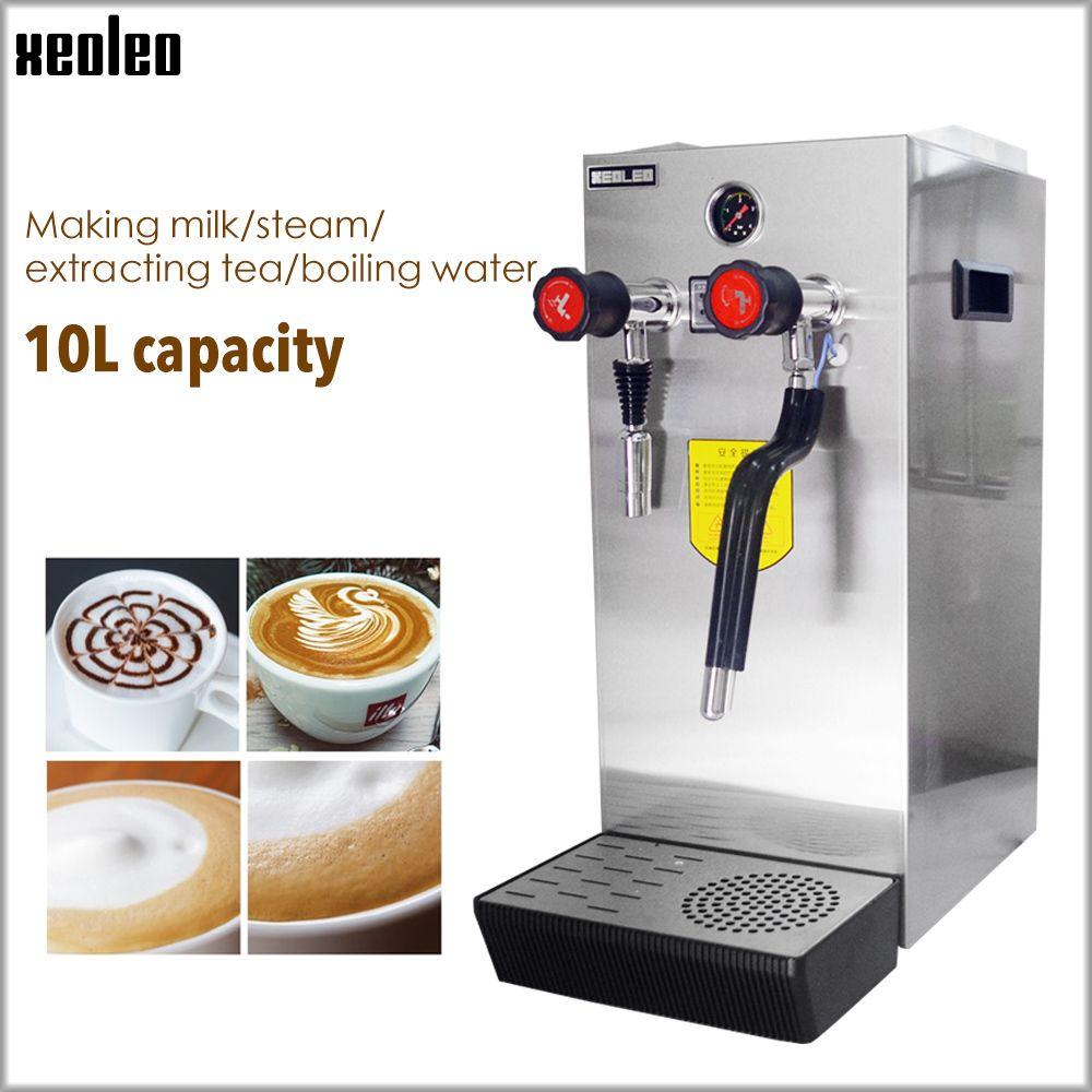 Xeoleo Handels Milch blase maschine Kochendem wasser maschine Dampfer Wasser Kessel Teapresso Maschine Kaffee maker Milch schaum maker