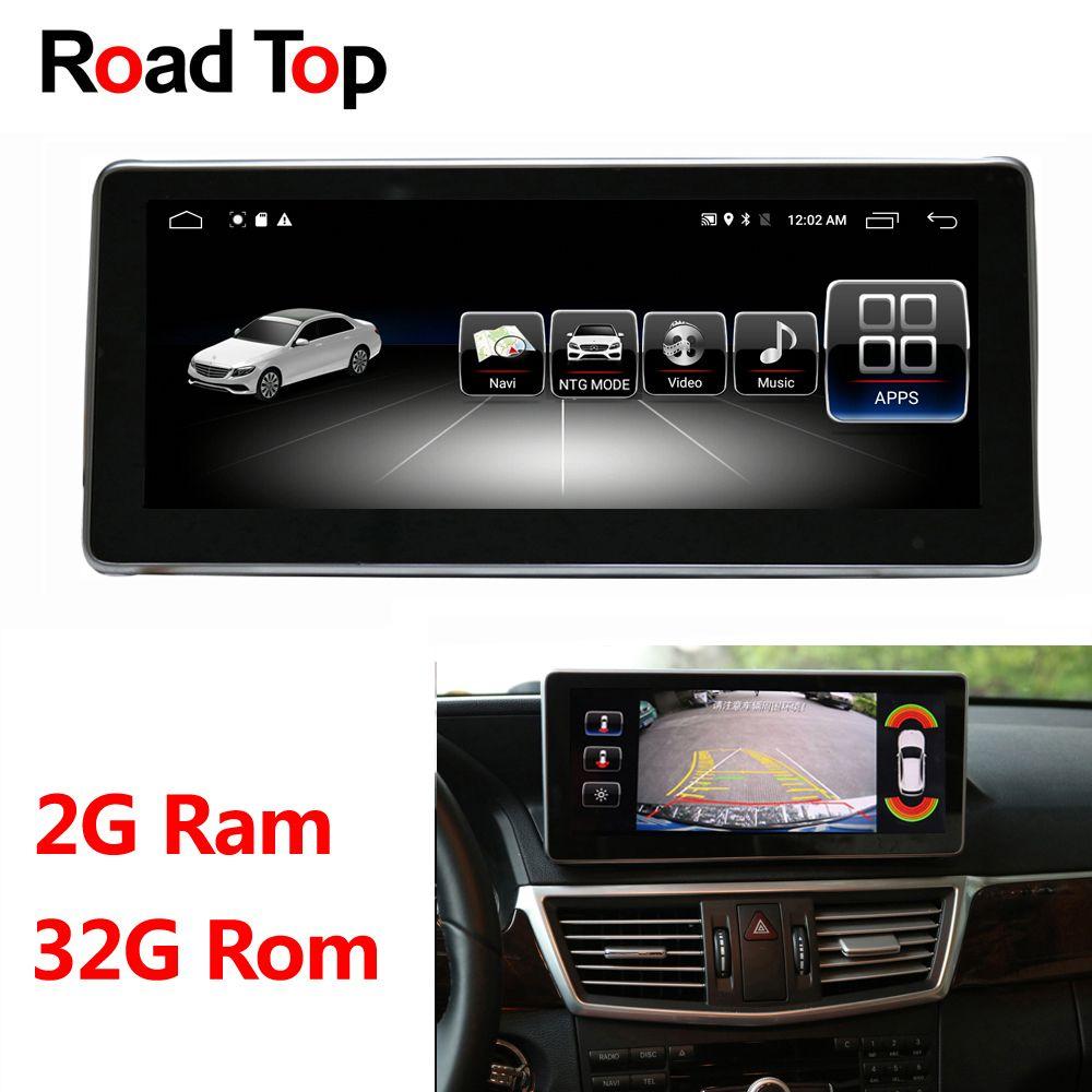 10,25 Android Display für Mercedes Benz E W212 S212 2009-2016 Auto Radio Multimedia Monitor GPS Navigation Bluetooth kopf Einheit