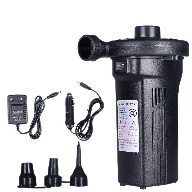 Pompe à Air gonflable de batterie de Nickel-Cadmium de pompe à Air électrique Rechargeable gonflent le dégonflage pour le Boa d'airbed de Kayak extérieur