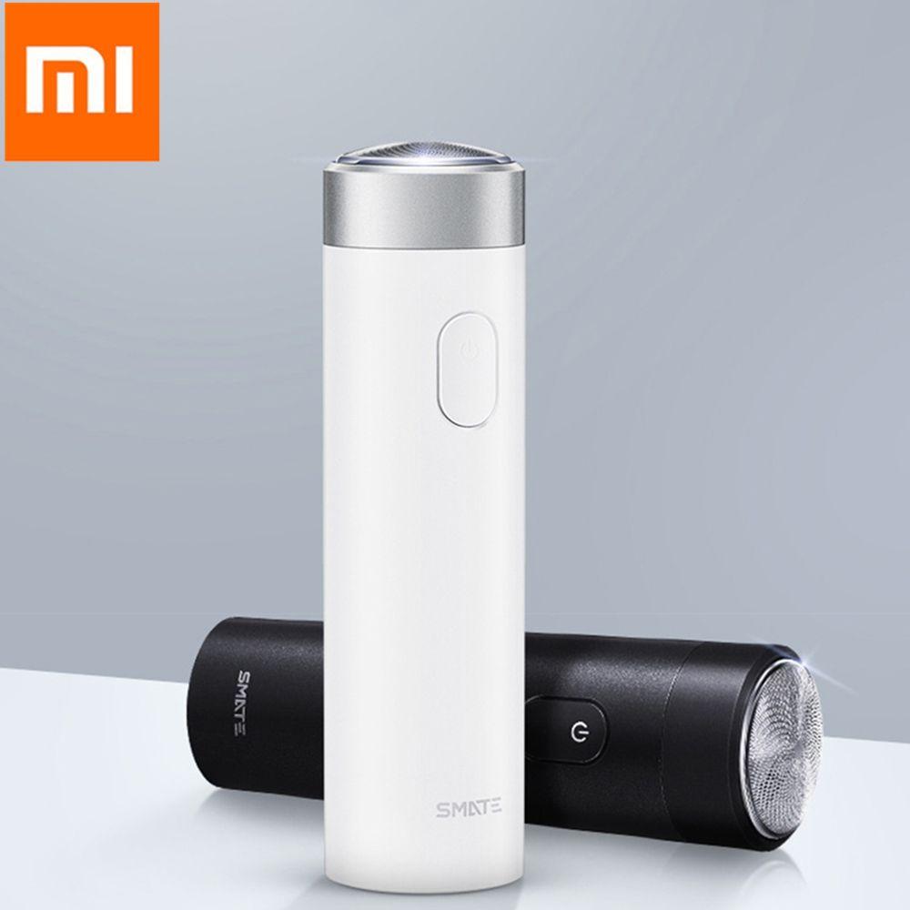 Xiaomi Smate Électrique Rasoir Flex Rasoir Rechargeable Sec Humide Rasage Machine Pour Hommes IPX7 Lavable Trois Feuille Lame Confortable Propre