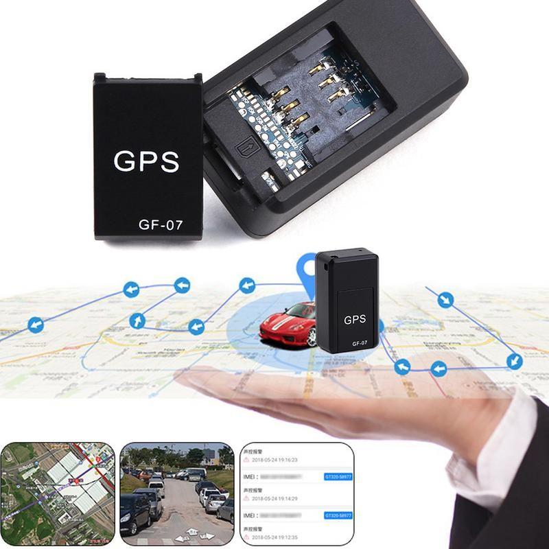 Mini GF07 GPRS Car GPS Tracker Locator Anti-Lost Recording Tracking Device Voice Control Can Record