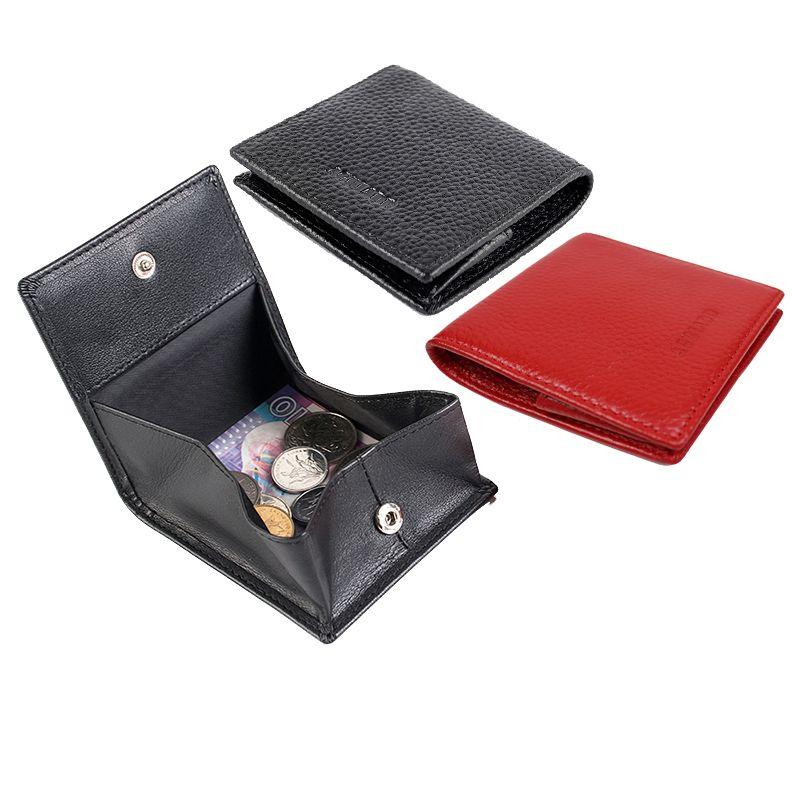 Porte-Monnaie unisexe en cuir véritable S580-39 Porte-Monnaie Femme Porte-Monnaie Homme Porte-Monnaie