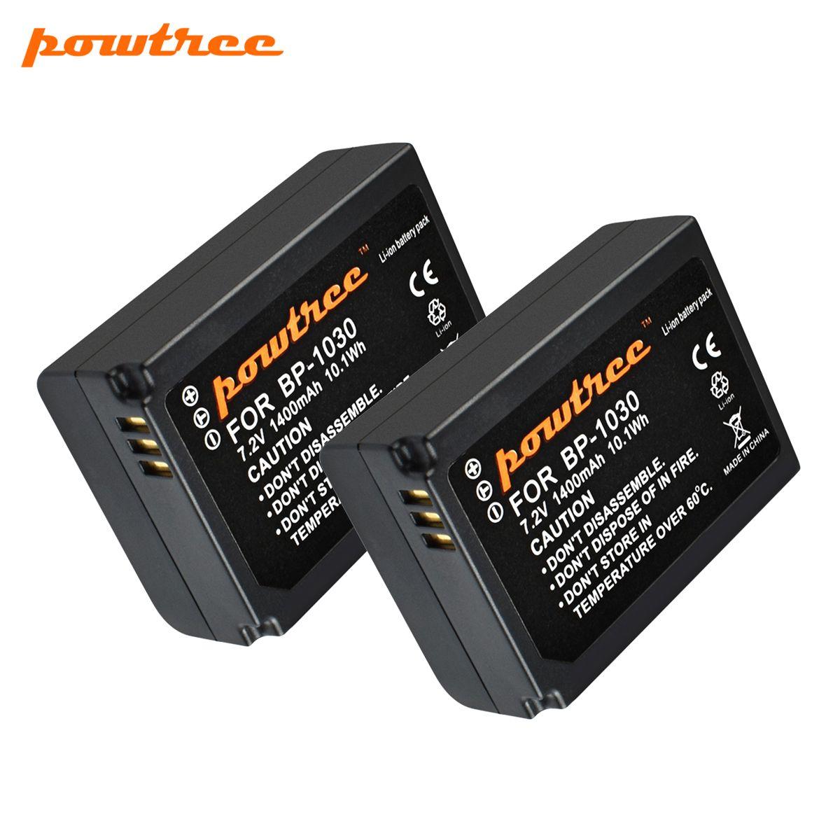 Powtree 7,2 V 1400 mAh BP-1030 BP1030 BP1130 BP-1130 Repalcement Kamera Batterie Für Samsung NX200 Kamera Batterie L10