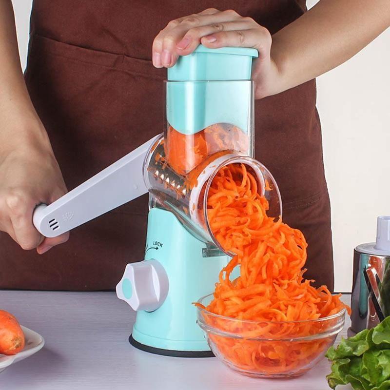 3 styles légumes hachoir multifonctionnel manuel légumes coupe ronde Mandoline pomme de terre fromage trancheuse Gadgets de cuisine