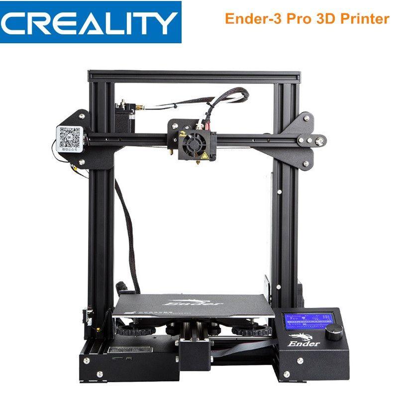 Creality 3D Ender-3 Pro 3D Drucker DIY Kit Hohe Präzision Stahl Rahmen LCD Display 220*220*250mm 3D Drucker Meanwell Netzteil