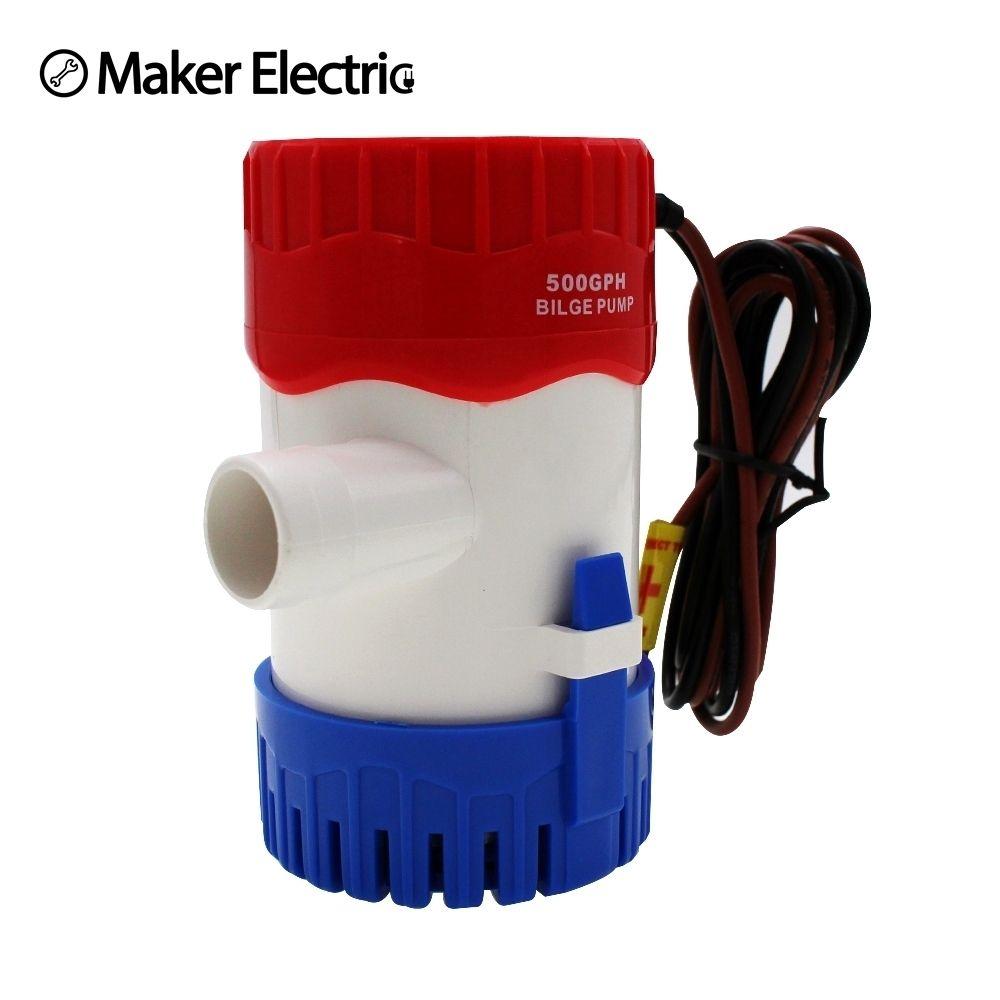 MKBP-G500-12/24 règle 500 gph pompe de cale 12/24v pour bateau de maison
