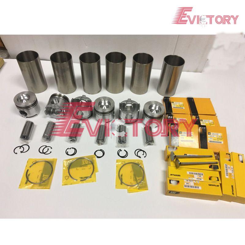Für Caterpillar motor überholung kit 3116 t 3116 DITA 3116 kolben + ring zylinder liner volle dichtung und lager kit ventil