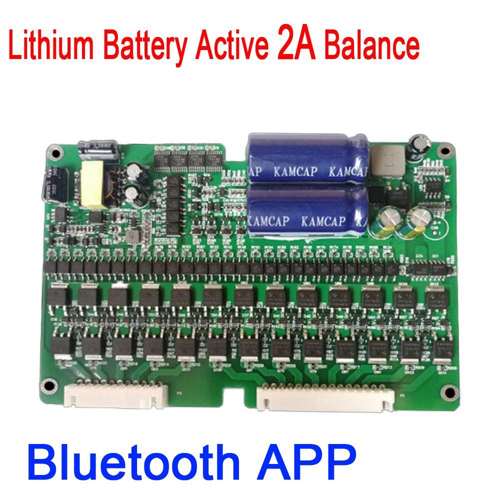 DYKB 2 S ~ 24 S 2A eBike Bluetooth Lithium-Batterie Aktive Balance BMS Li-Ion Lipo Lifepo4 Balancer Schutz Bord 4 S 7 S 10 S 16 S