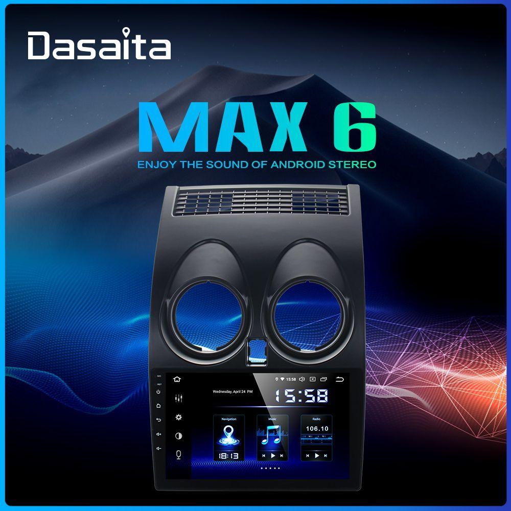 Dasaita 9 IPS Touch Screen Car Multimedia Player Android 9.0 Für Nissan Qashqai 2012 2013 2014 MP3 Bluetooth MAX6