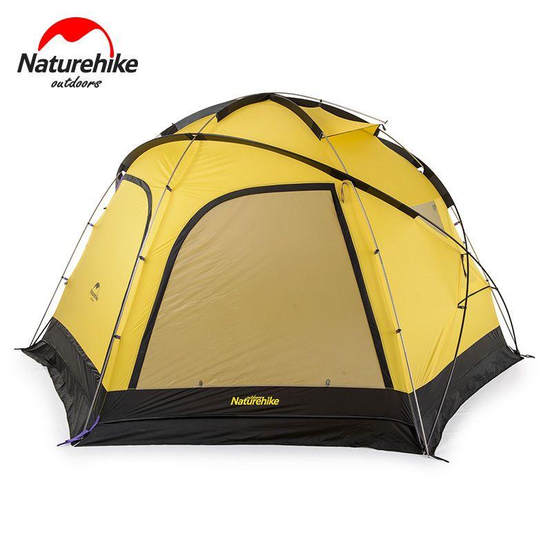 Naturehike Fallstreak Loch Super 4-6 Menschen Zelt Im Freien Camp Zelt Gruppe Camping Ausrüstung Sechseckigen Zelt