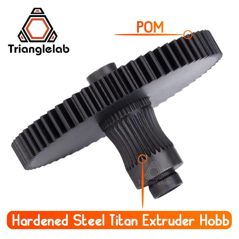Trianglelab 3d imprimante Titan Extrudeuse nouveau metal gear Hobb (acier trempé) livraison gratuite reprap mk8 i3