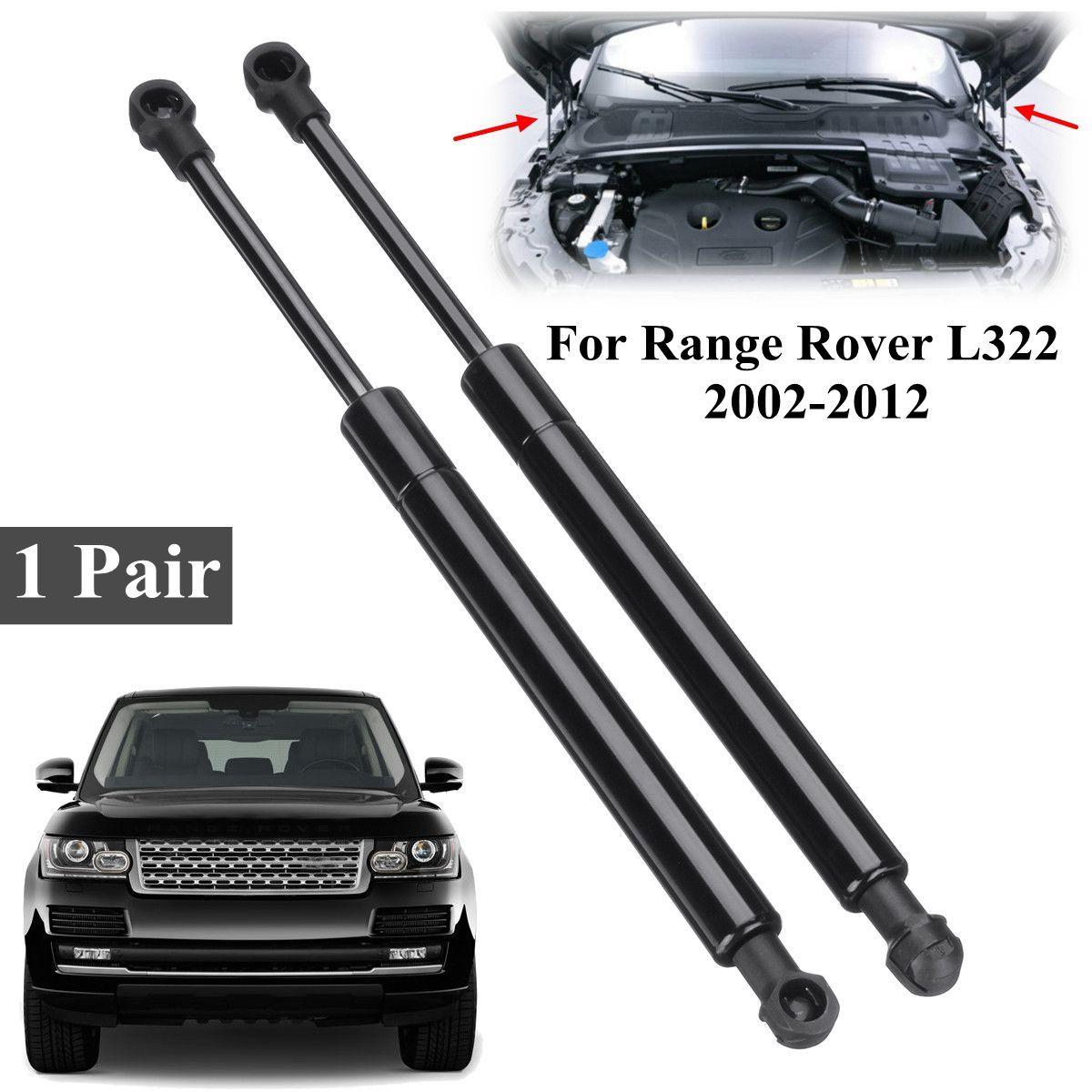 2 stücke Auto Vorderen Haube Haube Unterstützung Gasdruckfedern Deckel BKK760010 Für Range Rover L322 2002-2012