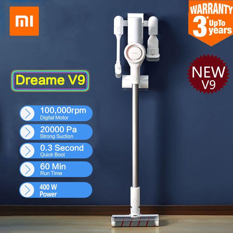 2019 Xiaomi Dreame V9 Handheld Cordless Stick Staubsauger Sauger 400 W 20000 Pa Staub Collector Hause Auto Von Xiaomi youpin