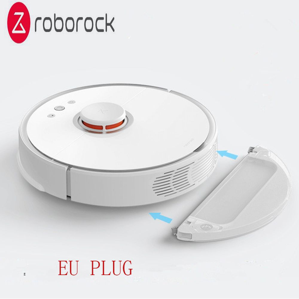 Roborock S50 Zweiten Generation Roboter Staubsauger Internationalen Version Eu-stecker Smart Sensoren System Pfad Planung