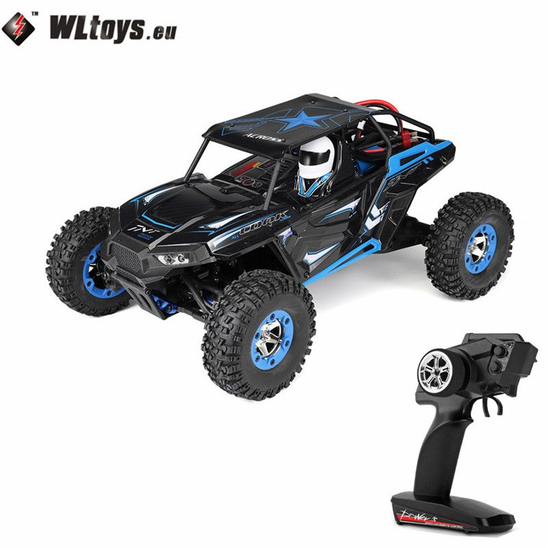 WLtoys 12428B 2.4Ghz 1/12 50KM/H 4WD Off-Road Vehicle Electric Toy Radio Controlled Car RC High Speed Racing Car