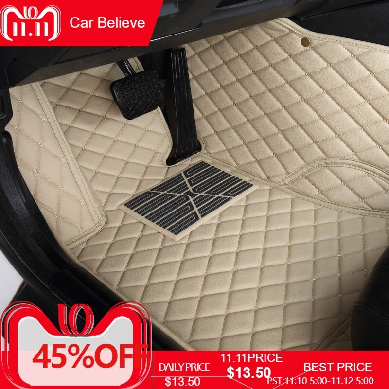 Car Believe Auto car floor Foot mat For lexus gs nx rx ct200h lx470 is 250 lx570 LX570 NX200 CT200 ES GS IS LS car accessories