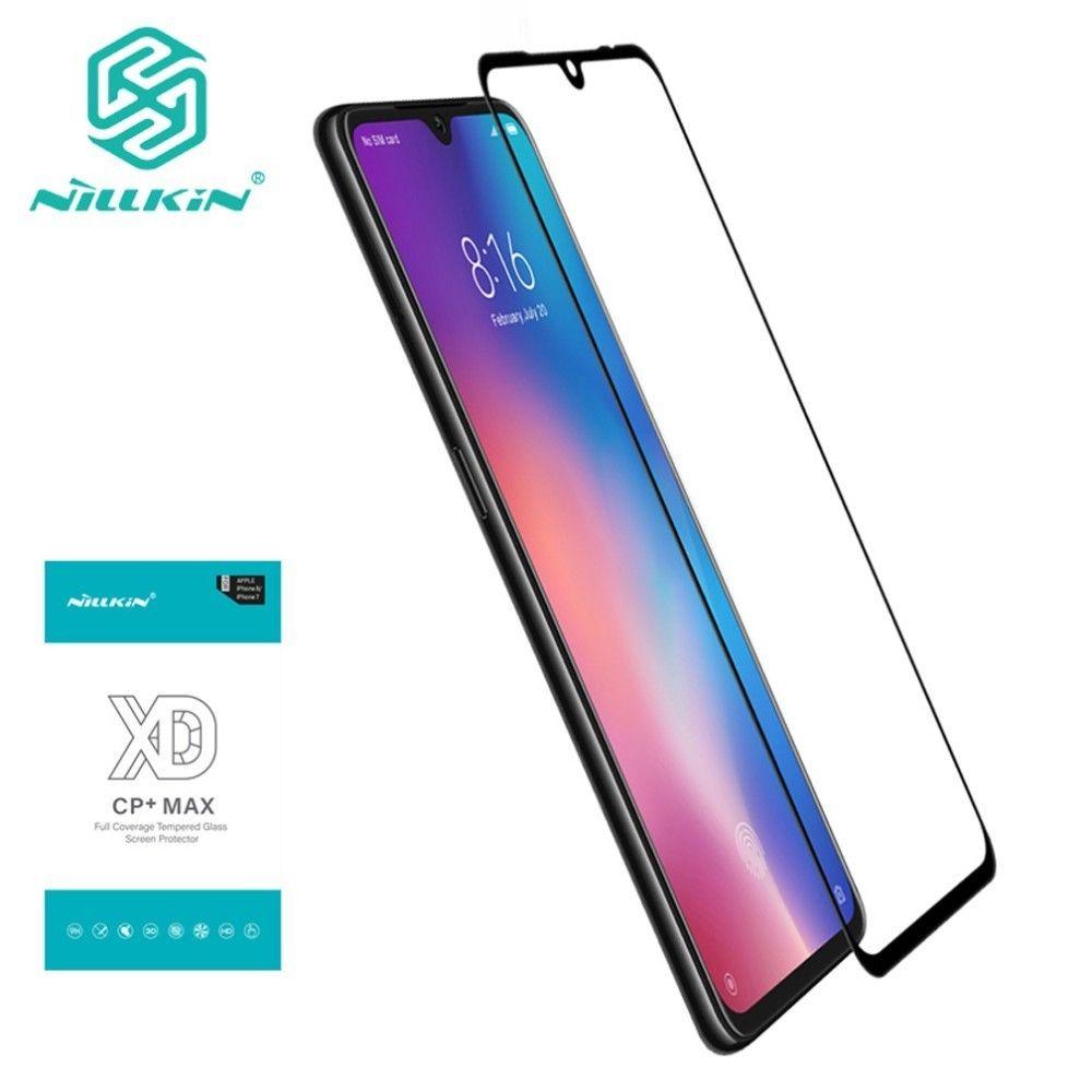 NILLKIN XD CP + MAX protecteurs d'écran mobiles pour Xiao mi mi 9 explorer Film de verre trempé à couverture complète pour Xiao mi mi 9 mi 9 explorer