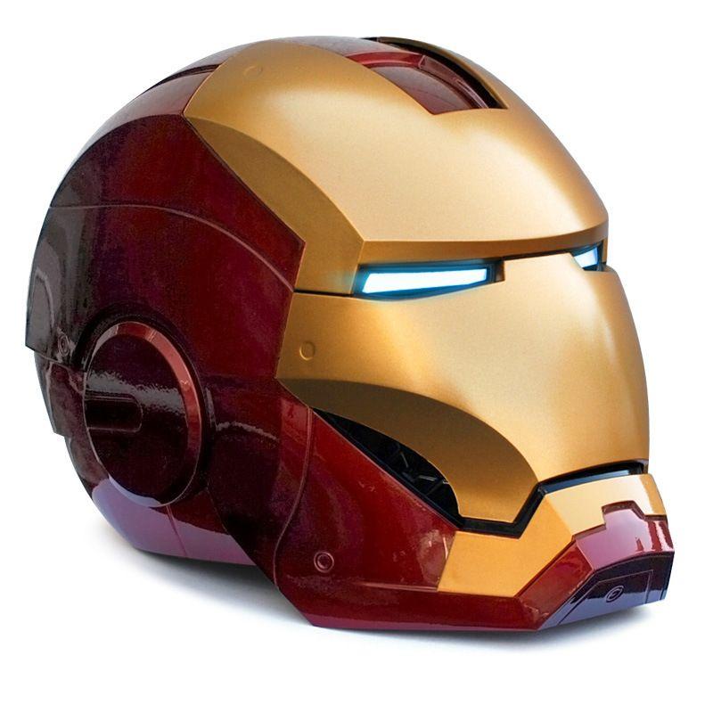 Luxus qualität Mk42 1:1 metall iron man helm action rolle cosplay iron man modell Figma geschenk sammlung spielzeug