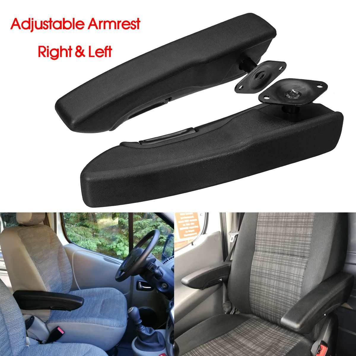 Universal Left/Right Side Adjustable Seat Armrest Hand Holder For Camper RV Van Motorhome Boat