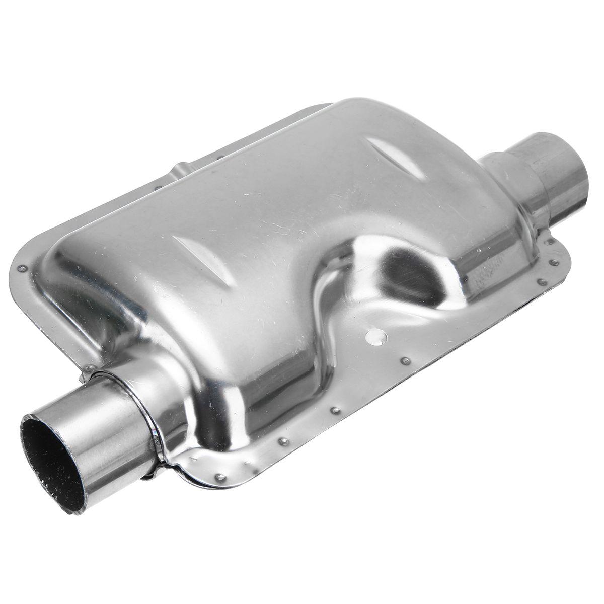 Nouveauté silencieux de tuyau d'échappement de calibre 24mm pour l'acier inoxydable similaire Webasto Eberspacher Air Diesel silencieux de chauffage de stationnement