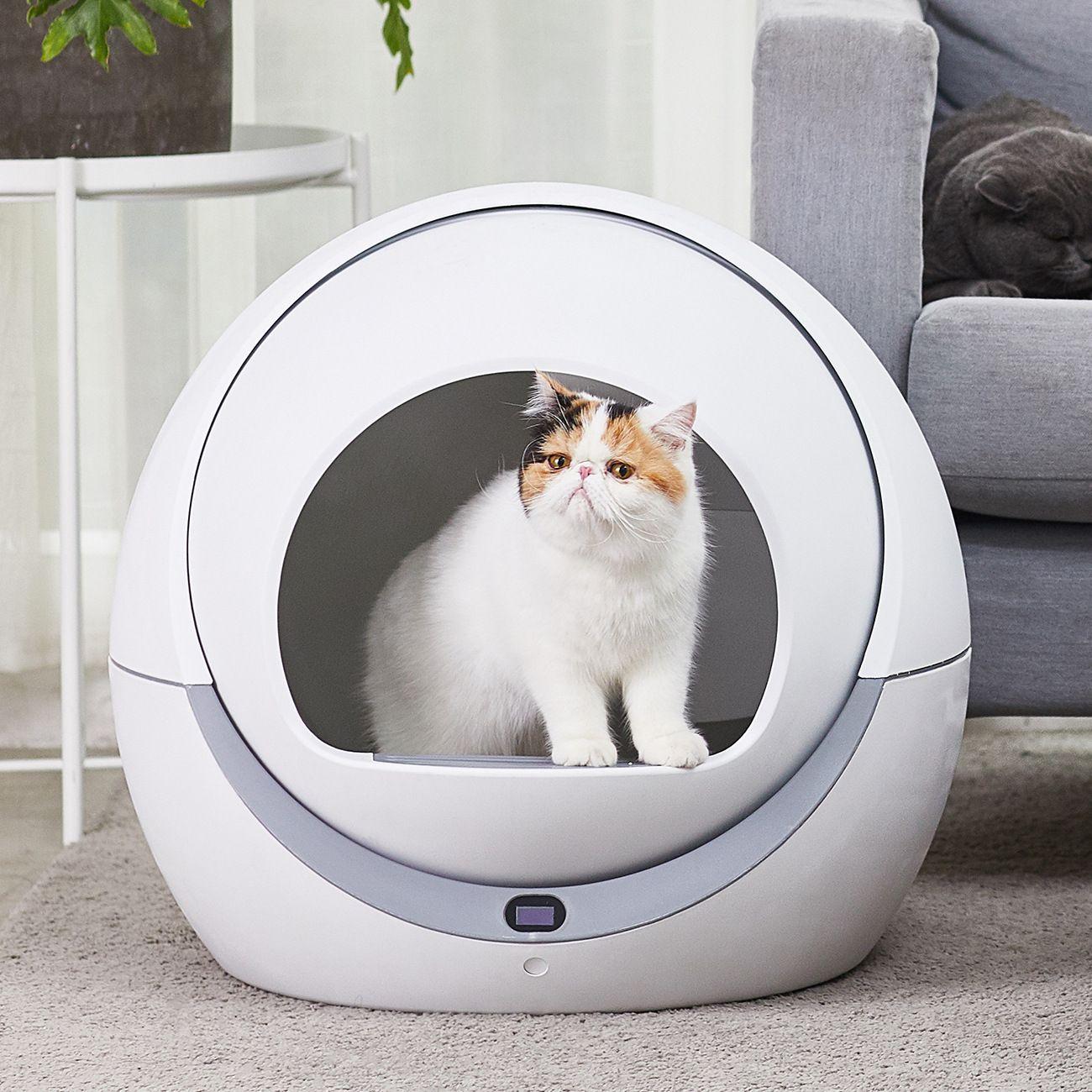 Automatische katze wc automatische katze sandkasten induktion rotary reinigung katze roboter wurf große kitty selbst reinigung wurf box