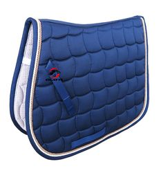 Free shipping horse saddle pad,saddle cloth,300G polyester,doulbe rope piping,with hand strap.(PD007)