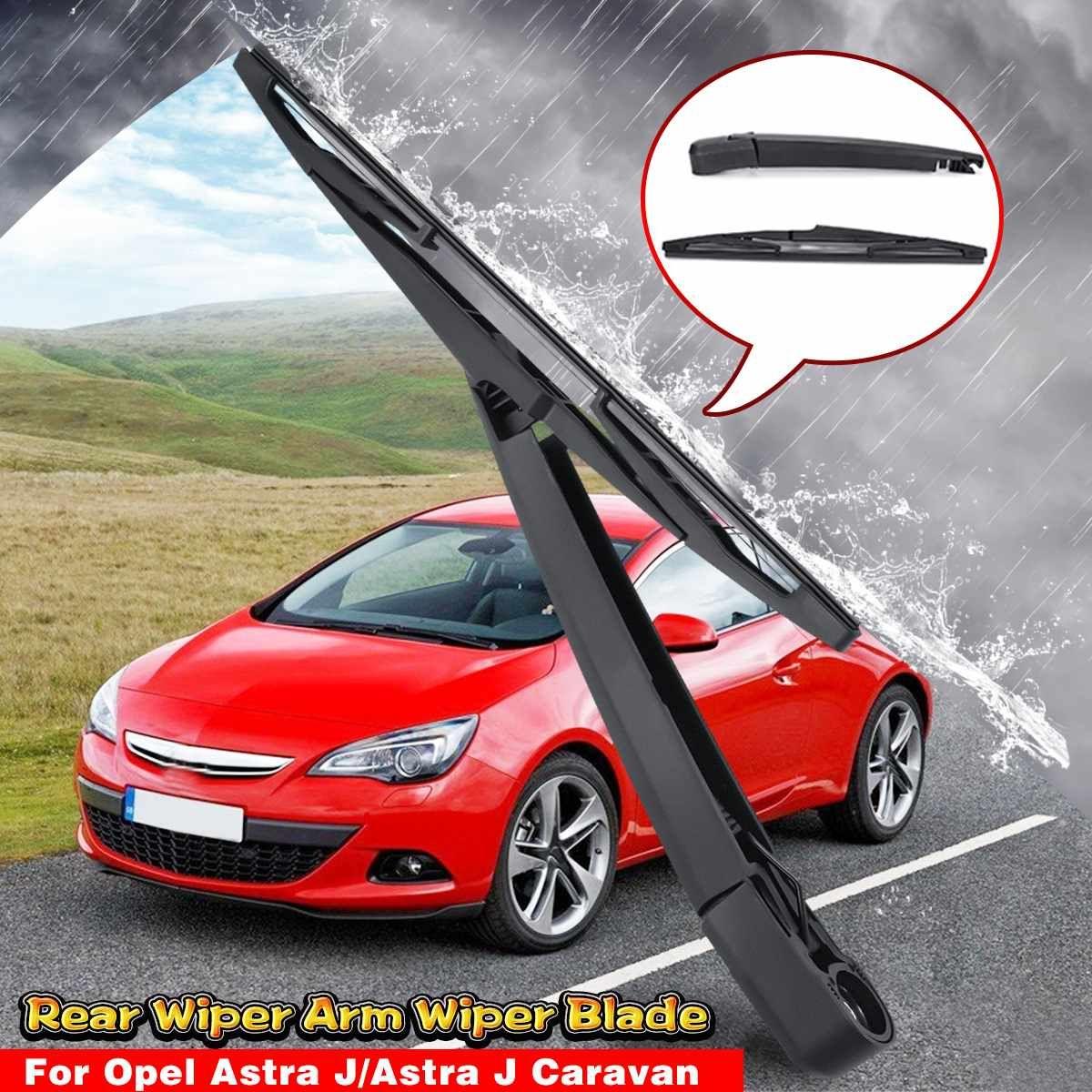 Für Vauxhall/Opel Astra J 2009-2011 2012 2013 2014 2015 2 stücke Heckscheibe Windschutz Wischer & wischer Arm Klinge Kit