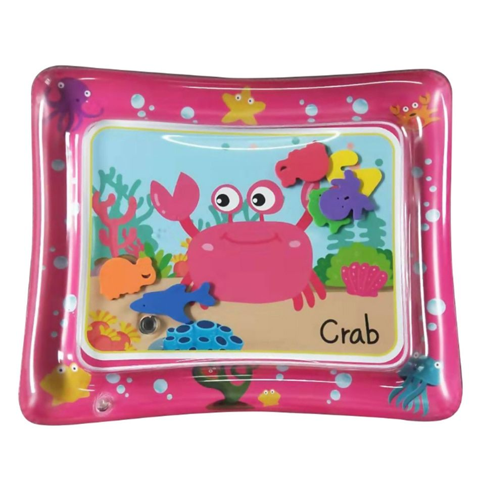 2019 Creative Dual Use Toy Baby Inflatable Patted Pad Baby Inflatable Water Cushion Prostrate Water Cushion Pat Pad Toy