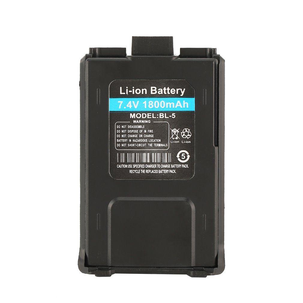 1800mAh Li-ion Battery For Baofeng UV-5R UV-5RE Walkie Talkie Two Way Radio