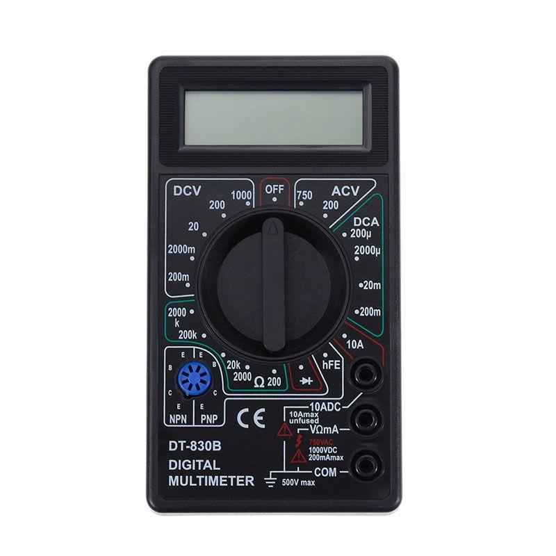 Haute Qualité WHDZ DT838 LCD Multimètre Numérique AC DC Testeur Voltmètre Diode Résistance Courant de Diode Électrique Multi Testeur Outil