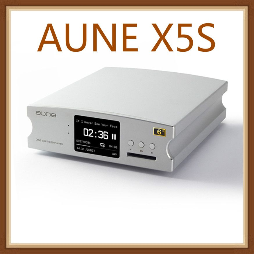 AUNE X5S Hifi Digital Audio Player Decoder AK4490 DSD USB DAC Verstärker 24bit/192 K