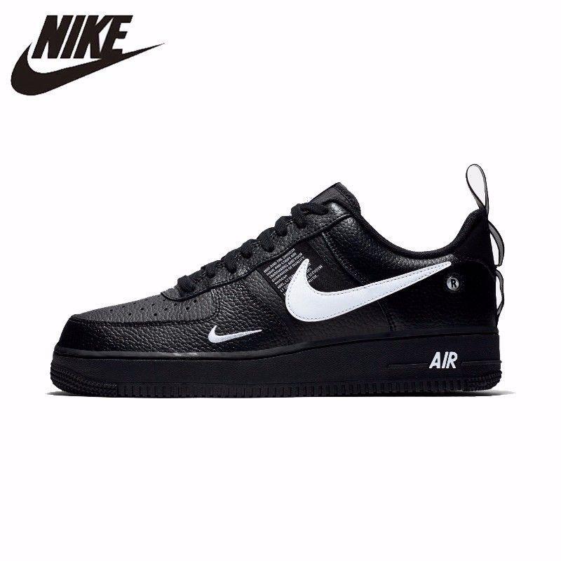 NIKE Original Air Force 1 männer Skateboard Schuhe Komfortable Unterstützung Sport Turnschuhe Für Männer # AJ7747