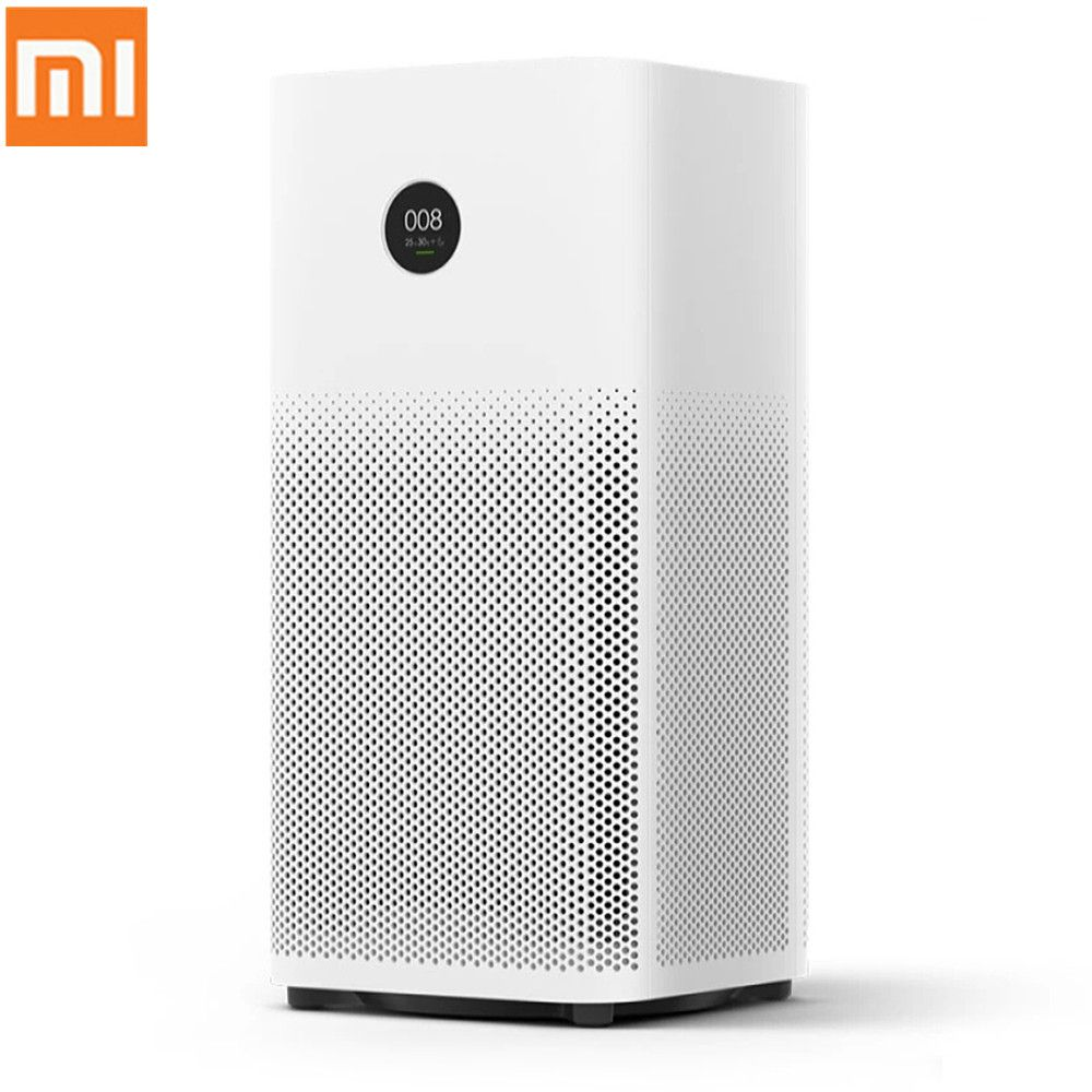 Original Xiaomi Smart Air Purifier 2S OLED Display Smartphone Mi Home APP Control Smoke Dust Peculiar Smell Cleaner 100-240V