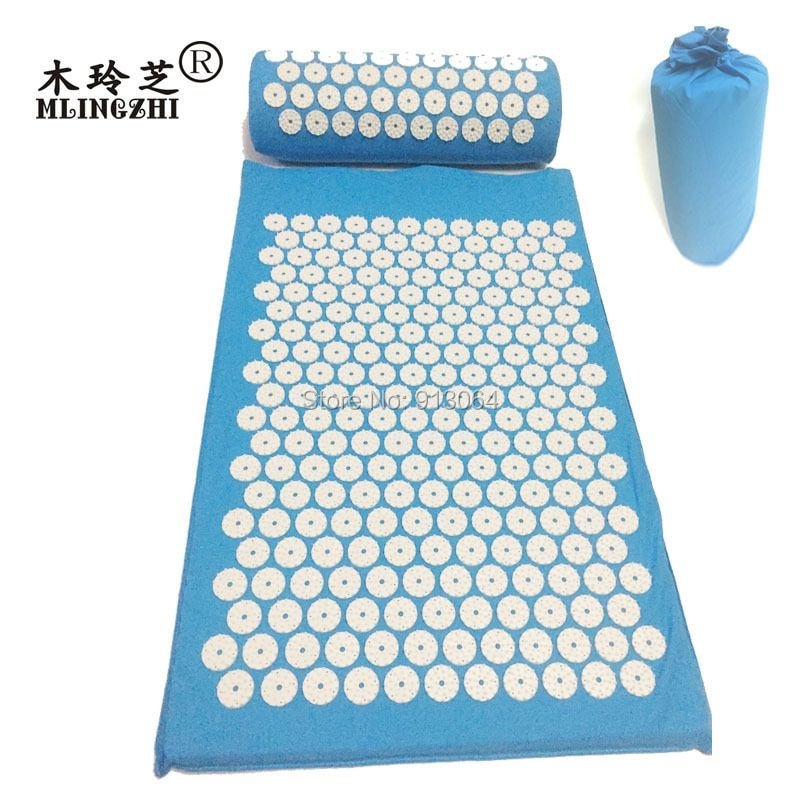 Acupressure Massage Pillow Head Massager Stress Neck Pain Relief Treatment Tension for the special client order with gift