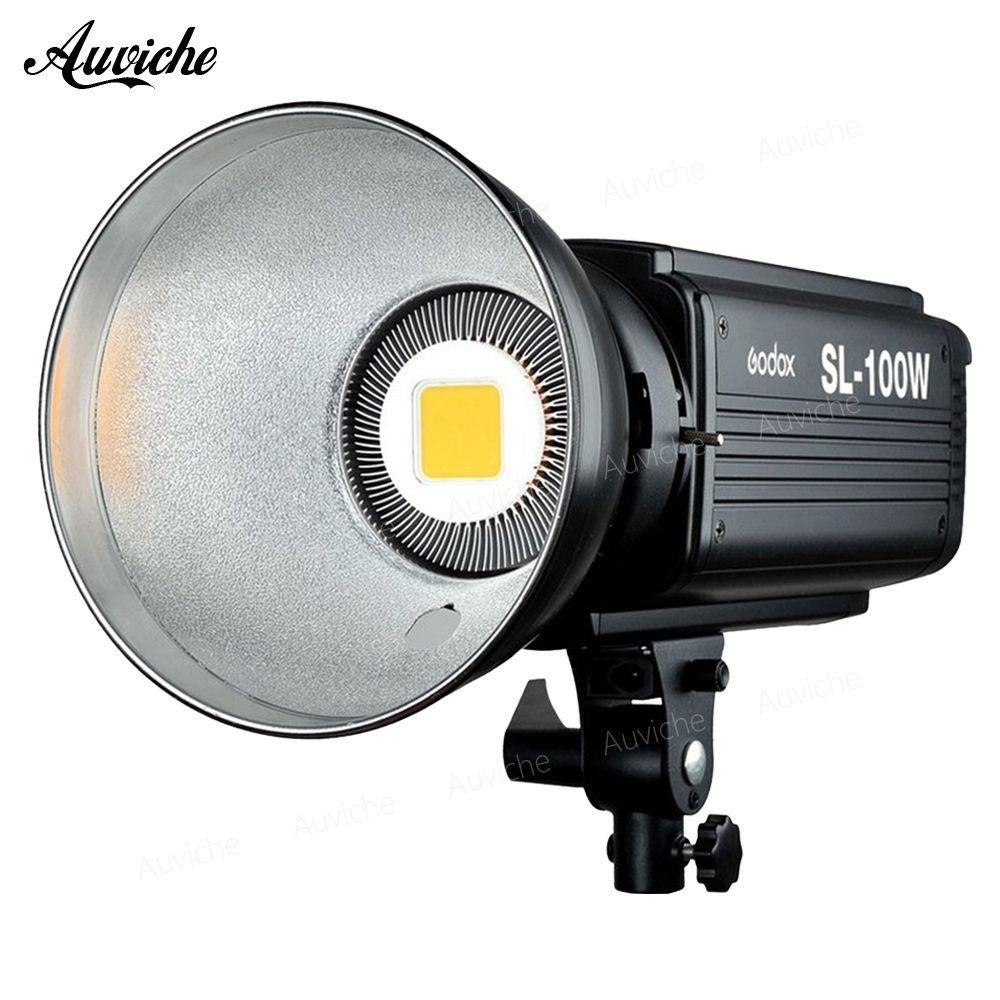 Godox SL-100W 5600 karat Studio LED Video Licht Füllen licht Foto LED Licht Bowens Montieren Weiß licht Version für Studio video