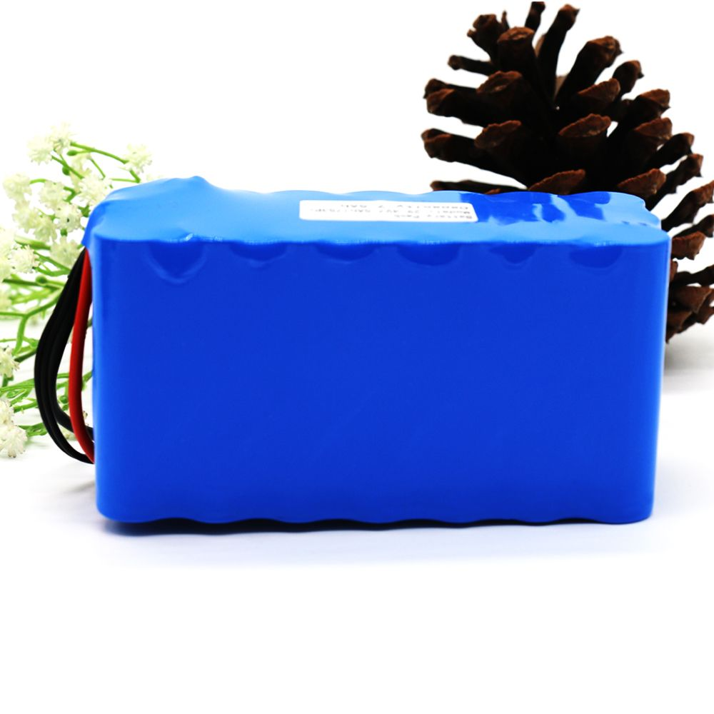24V 7S3P 29.4V 7.5Ah 18650 Li-ion Battery Pack for Electric Unicycles Moped Ebike Scooters Light Bicycle Wheelchair with BMS