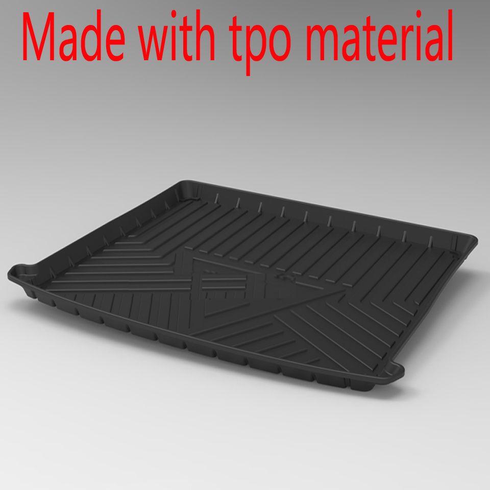 Für Volvo xc60 xc90 S90 S80L S40 V40 V60 V70 Wasserdichte Anti-slip gummi Kofferraum Matte Fach Boden teppich Pad tpo Cargo-Liner