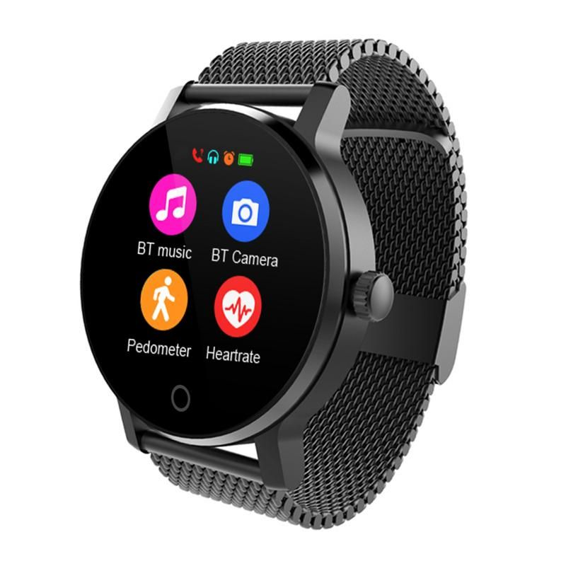 SMA-09 Smart Watch Men 1.28 Inches Bluetooth Calling Music Playing Heart Rate Monitoring Smartwatch reloj inteligente amazfit