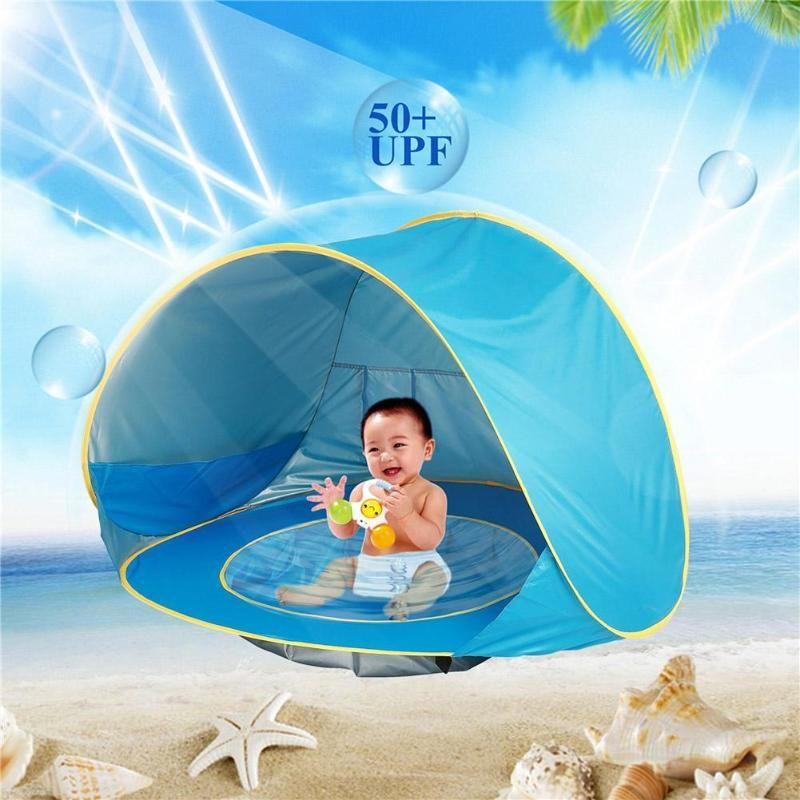 Enfants bébé jeux plage tente Portable construire extérieur soleil enfant piscine jouer maison tente jouets pour bébé enfants