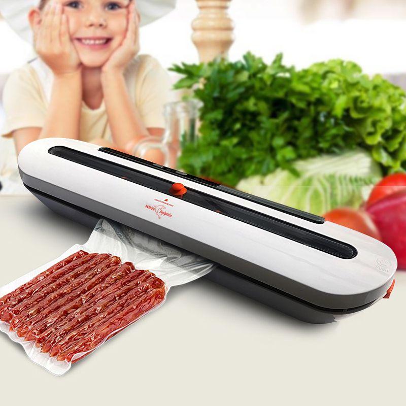 Électrique Emballage Emballage Sous Vide Machine Pour La Maison Cuisine Y Compris 10 pcs Food Saver Sacs Commercial Vide Alimentaire D'étanchéité
