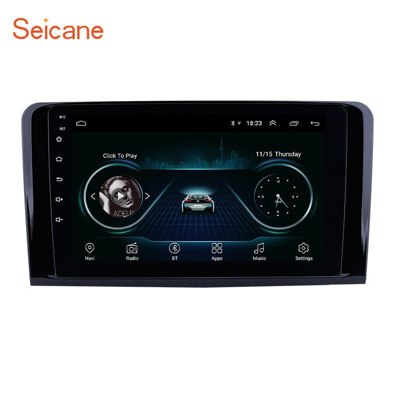 Seicane Android Auto Radio 2Din Autoradio GPS Navigation Für 2005 2006-2012 Mercedes Benz ML KLASSE W164 ML350 ML430 ML450 ML500