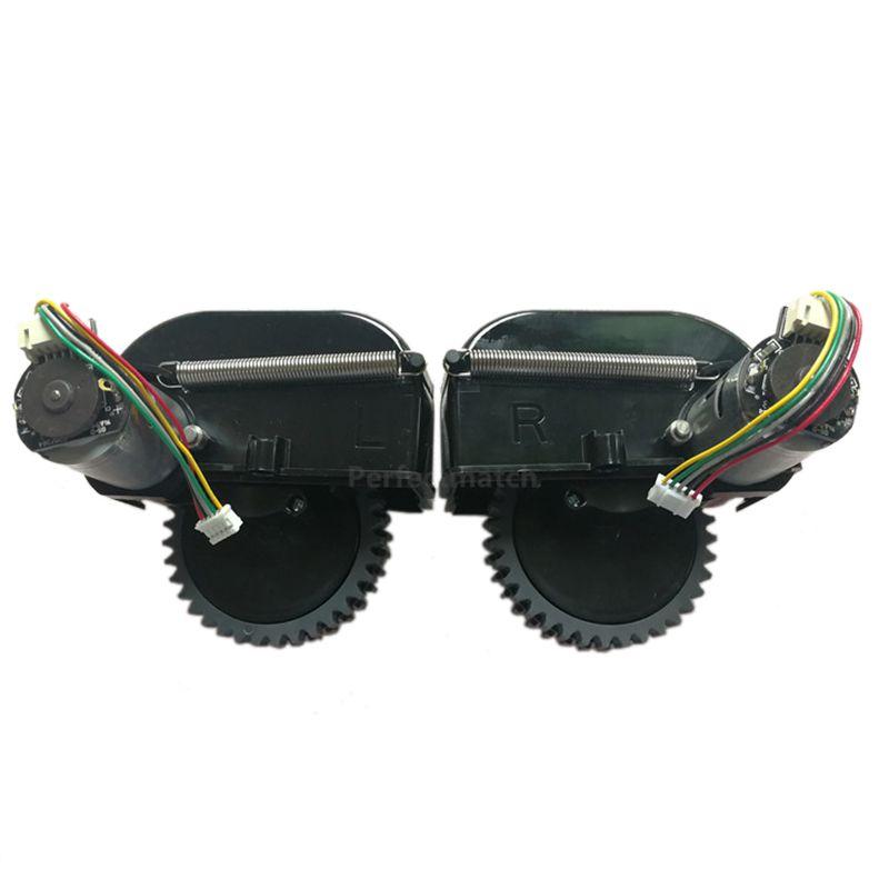 1 paire de roue pour Robot aspirateur Ilife V3s Pro V5s Pro Robot aspirateur pièces comprennent moteur de remplacement