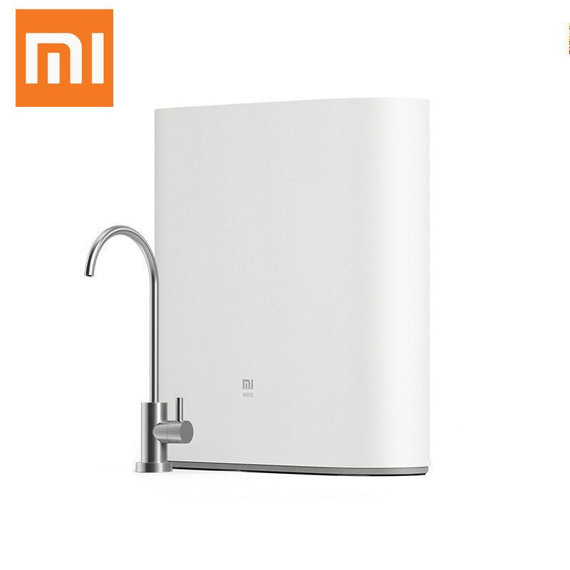 Xiaomi Original Mijia Water Purifier 220V 72W Home Kitchen Direct Drink Machine Kitchen Type Activated Carbon RO Membrane