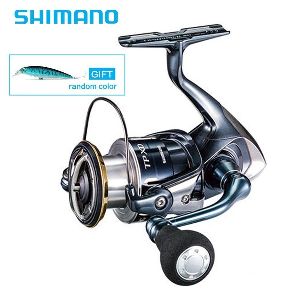 Neueste Shimano Original TWINPOWER XD C3000HG 4000XG C5000XG 9 + 1BB Spinning Angeln Reel Made In Japan HAGANE Körper Wasser beweis