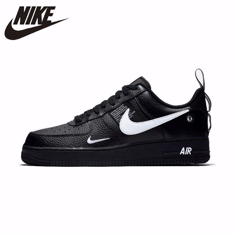 Nike Air Force 1 Original Leder männer Skateboard Schuhe Komfortable Outdoor-Sport Turnschuhe # AJ7747