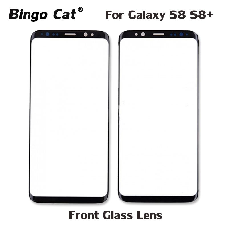 AAA+ New Replacement External Glass for Samsung Galaxy S8 S8 Plus G950F G955F LCD Display Touch Screen Front Outer Glass Lens