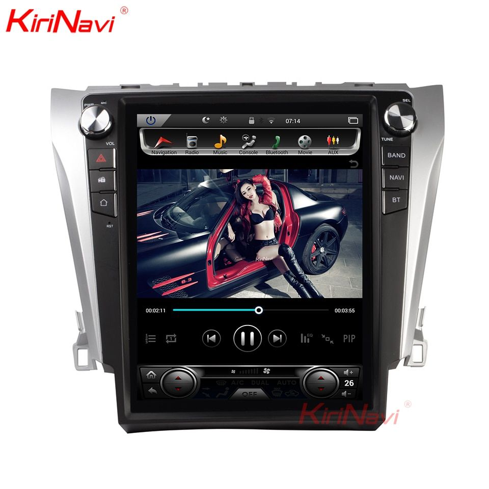 KiriNavi 12,1 ''2 Din Android 8.1 Auto Radio Für Toyota Camry Android Dvd Player Navigation Auto GPS Multimedia Player 2012 + 4G