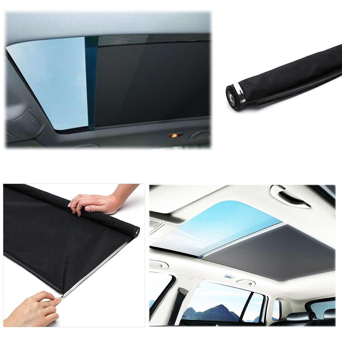 Schwarz Dachfenster shutter Schiebedach sonnenschirm vorhang Für Audi Q5 für VW Sharan stil Tiguan