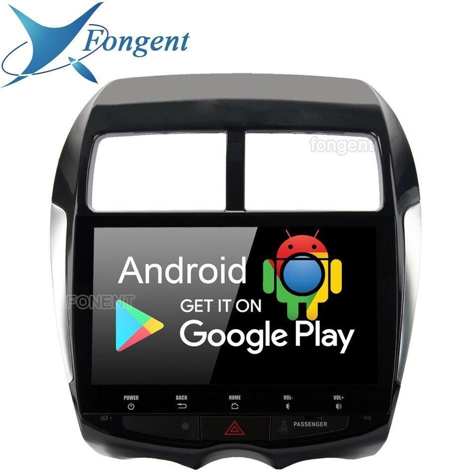 Android 9.0 Kopf Einheit für Mitsubishi ASX 2010 2011 2012 2013 2014 2015 GPS Gerät Multimedia Radio Player 10,2